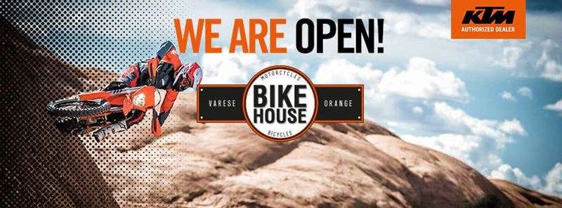 Bike House Orange